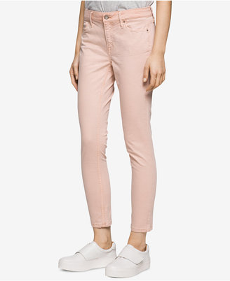 Calvin Klein Jeans Colored Wash Ankle Skinny Jeans $69.50 thestylecure.com