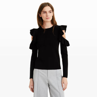 Colema Cold Shoulder Sweater $169.50 thestylecure.com