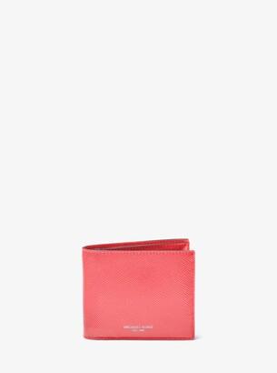 Michael Kors Harrison Leather ID Billfold Wallet