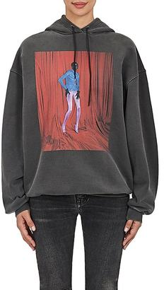 Balenciaga Women's Photo-Graphic Cotton Hoodie