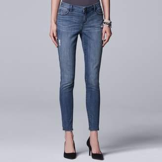 Vera Wang Petite Simply Vera Skinny Jeans