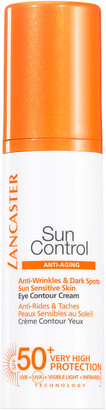 Lancaster Sun Control Eye Contour Cream for Anti-Wrinkles and Dark Spots SPF50+ 15ml