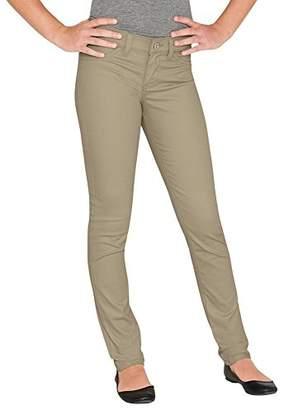 Dickies Women's Junior Super Skinny Twill Pant