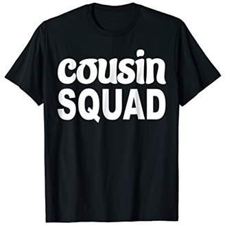 Cousin Squad T-Shirt Funny Gift Shirt / Halloween shirt
