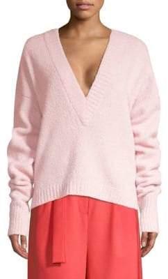 Tibi Airy Alpaca Sweater