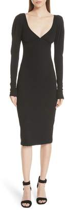 A.L.C. (エーエルシー) - A.L.C. Dafne Puff Shoulder Body-Con Dress