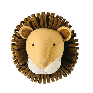 Efl Kids Lion Wall-Mounted Plush Toy - Copper - EFL Kids