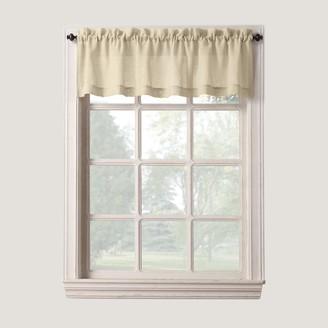 Blend of America Sonoma Goods For Life SONOMA Goods for Life Ayden Linen Tier Window Valance - 56'' x 14''