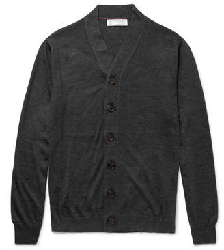 Brunello Cucinelli Cashmere and Silk-Blend Cardigan