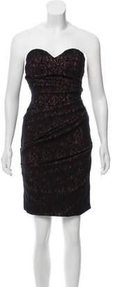 Preen by Thornton Bregazzi Strapless Lace Dress