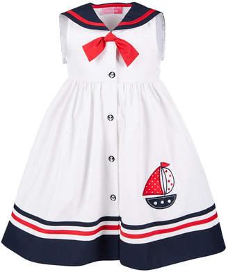 Good Lad Little Girls Sailor Dress