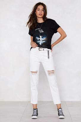 Nasty Gal Shred a Tear Distressed Jeans