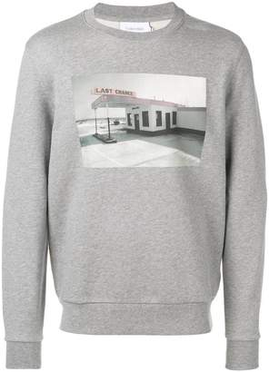 Calvin Klein graphic printed sweatshirt