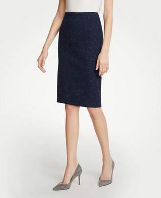 Ann Taylor Speckled Pencil Skirt