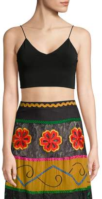 Alice + Olivia Women's Bali Fitted Tank Top