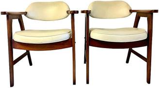 One Kings Lane Vintage Mid-Century Modern Armchairs - Set of 2 - Jacki Mallick Designs