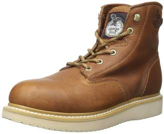 Georgia Boot Men's 6 Inch Wedge St Work Shoe
