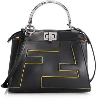 Fendi Mini Peekaboo Leather Bag