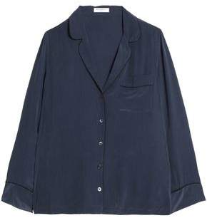 Equipment Washed Silk Pajama Top