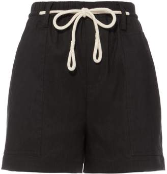 Vince Rope Tie Black Shorts