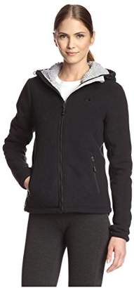 Champion Women's Micro Fleece Sherpa Bonded Jacket $120 thestylecure.com