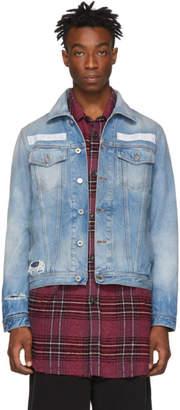Diesel Blue Denim Nhill-Tm Jacket