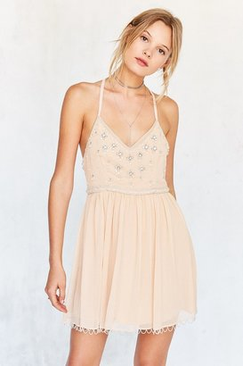 Kimchi Blue Snow Queen Embellished Mini Dress $149 thestylecure.com