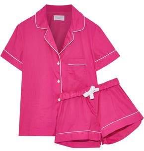Three J NYC Eloise Cotton-Poplin Pajama Set