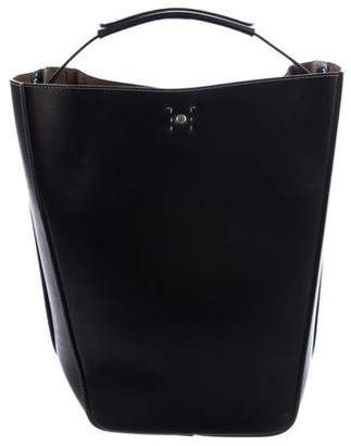 Ghurka Starling Leather Bucket Bag