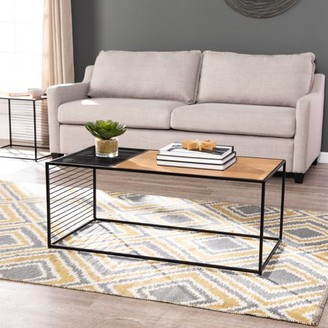 Southern Enterprises Kelster Contemporary Cocktail Table