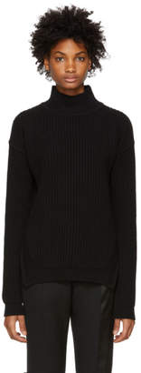 Rick Owens Black Fisherman Turtleneck