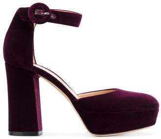 Gianvito Rossi block heel pumps