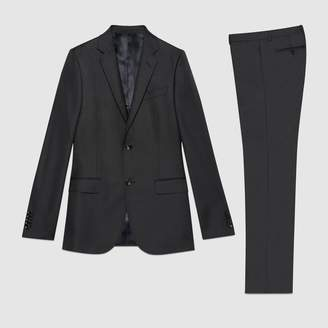 Gucci Stretch wool Monaco suit