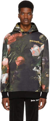 Palm Angels Multicolor Macro Flower Hoodie