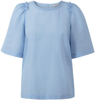 Oliver Bonas The Even Truth Blue Top