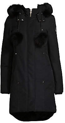 Moose Knuckles Women's Stirling Fox Fur-Trimmed Parka