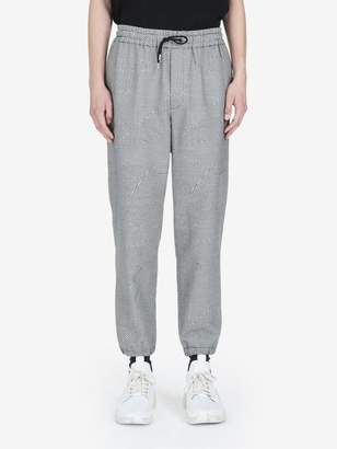 McQ Patchwork Dogtooth Tailored Trackpants