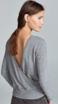 Equipment Dante V Back Cashmere Sweater