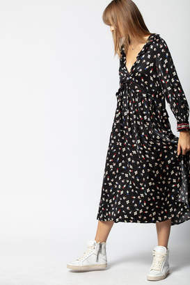 Zadig & Voltaire Reacty Flower Vintage Dress