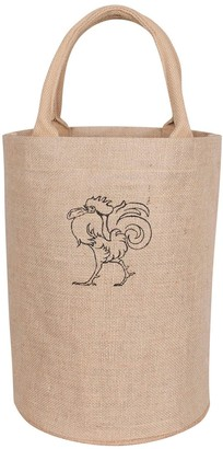 Kaf Home KAF HOME Rooster Jute Bucket Bag