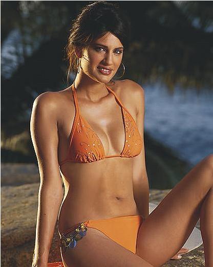 Embellished string bikini