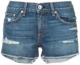 Rag & Bone Jean skinny-fit denim shorts