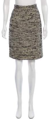 Proenza Schouler Silk Bouclé Skirt