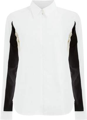 Aalto constrast sleeved shirt