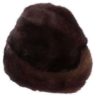 Christian Dior Mink Fur Hat