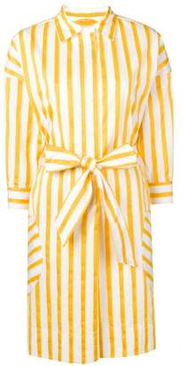 Sara Roka striped shirt dress