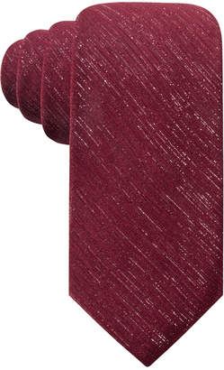 Ryan Seacrest Distinction Men Shimmer Chiffon Solid Tie