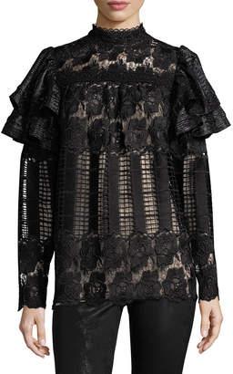 Anna Sui Lace Victorian Blouse