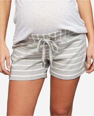 A Pea in the Pod French Terry Maternity Shorts