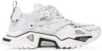 Calvin Klein white Strike 205 leather low top sneakers